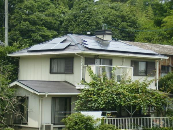 井原市 T様邸 オール電化+太陽光発電
