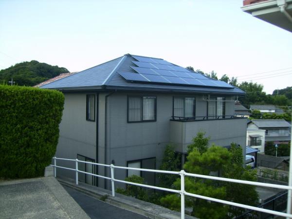 倉敷市 W様邸 オール電化+太陽光発電